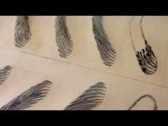 DEMONSTRAÇÃO MICROBLADING-TEBORI Instituto da Sobrancelha - YouTube