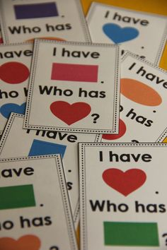 Practice shape names with a fun game. Check it out in my store!