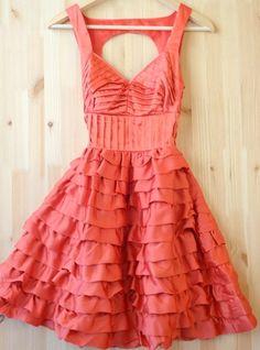 pretty fluffy dress
