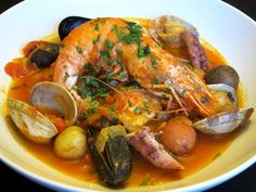 Bouillabaisse   Even though this fish originates from the city of Marseille in France ...