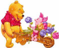 disney gifs | Pooh e Leitão