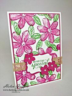 Tutorial | Garden in Bloom Card (Stampin'Up!) – Helen Griffin