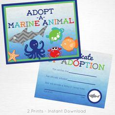 Adopt a Marine Anima