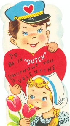 I think I was given this Valentine from someone when I was a little girl. <3