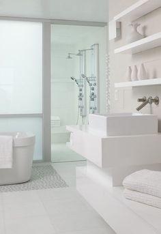 White Bathroom***