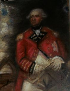 ARTFINDER: Large Oil Sketch influenced by Reynol... by Jack Bagley - Large oil sketch influenced by the fantastic portrait by Sir Joshua Reynolds of Lord Heathfield that is now in the National Gallery, London.  Painted not a...