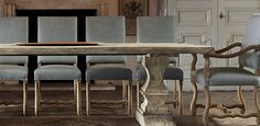 Os De Mouton Chairs | Restoration Hardware $279-399 (side vs host)...Can use host in living room too!