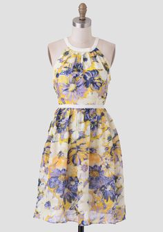 Fresh Florals Printed Dress from Ruche