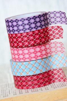 $1.99 Argyle Washi Tape #downtown tape #washi tape # washi downtowntape.com