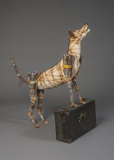 A dog with a sunburnt nose. A circus baboon on the run. A rabbit with a ball in hand. A buffed-up, vengeful squirrel. These are some of the creatures brought to life by Santa Fe-based artist Geoffrey Gorman.