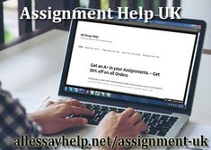 Get the benefit with #AssignmentHelpUK by our professionals. Our motive is to help our clients and make them more than happy with our services with quality work.