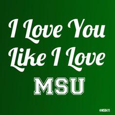 #Love #MSU #Spartan