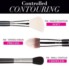 Learn the basics of creating the perfect contour and the top three Sigma brushes to make it happen! #sigmabeauty Read more: http://www.sigmabeautytalk.com/2013/06/10/how-to-contour/