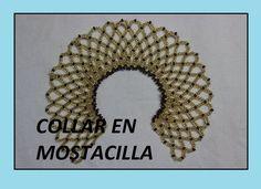 COLLAR EN MOSTACILLA//niño Jesús