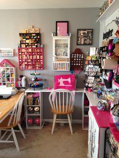 ❤My craft room.