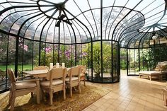Solarium in SF home for sale Photo: Linda Mayne, OpenHouse Photography - very cool roof design!