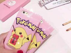 Coque Pokémon go Pikachu bonbon couleur pink pour iPhone 6/7 acheter sur lelinker.fr