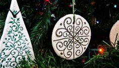 decoracion navidad adornos navideños caseros manualidades pasta de sal