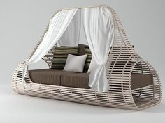Lolah Daybed by Kenneth Cobonpue...
