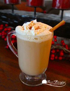 Gingerbread Rum Latte - copyright Rum Therapy