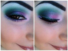 Makeup on myself (: Ariel L from Beautylish using Eye Kandy.
