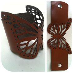 My EmilydeMolly Leather Butterfly Cuff  https://www.facebook.com/EmilydeMolly