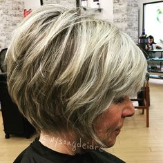 Shaggy Medium Length Bob - 60 Messy Bob Hairstyles for Your Trendy Casual Looks - The Trending Hairstyle Over 60 Hairstyles, Messy Bob Hairstyles, Mom Hairstyles, Older Women Hairstyles, Pixie Haircuts, Wedding Hairstyles, Haircuts For Over 60, Short Hair Over 60, Short Hair With Layers