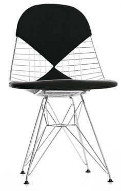 Wire Chair DKR-2 (with Bikini)  by Charles and Ray Eames