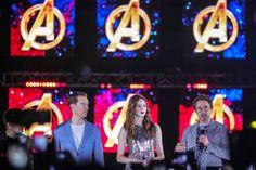 Avengers stevent in recordtijd op miljard af
