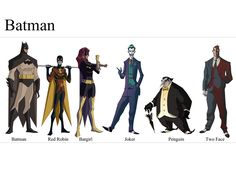 Batman Character Sheet by *Worldsfinest on deviantART