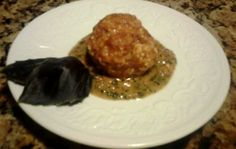 Spicygal.com | Mozzarella Stuffed Turkey Sausage Balls with Tomato Pesto Sauce #HealthyRecipe #GlutenFree #WeightWatchers
