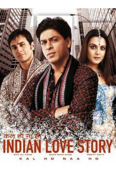 Shahrukh Khan , Saif Ali Khan Preity Zinta - Kal Ho Naa Ho - the all time favorite. Best Bollywood Movies, Pirate Movies, Preity Zinta, Free Tv Shows, Sr K, Film Archive, Top Movies, Movies Free, 2018 Movies