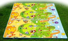 Care bear waterproof baby play mateco-friendly,non-toxic,odorless,beautiful pictureThick and dense PE foam interior