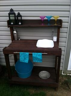 Outdoor Bar | Do It Yourself Home Projects from Ana White
