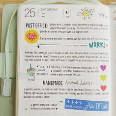 I adore looking at other notebooks: their writing, their stories, how they place items, where they choose to write. Bullet Journal And Diary, Bullet Journal Inspiration, Journal Layout, Journal Pages, Journal Ideas, Planners, Hobonichi Techo, Hobonichi Ideas, Journal Organization