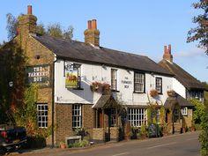 Farmer's Boy Pub, outside of London in Hertfordshire