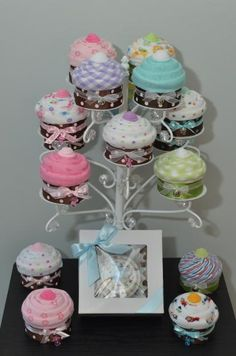 Beautiful Diaper Cakes, Receiving Blanket Cupcakes, & Baby Shower Favors - Norfolk - For Babies - Infants