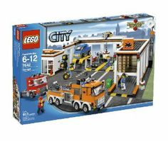 Compare prices on LEGO City Set Garage from top online retailers. Save money on your favorite LEGO figures, accessories, and sets. Lego Design, Lego City Garage, Legos, Cheap Lego, Lego City Sets, Lego City Police, All Lego, Lego Toys, Geek Gear