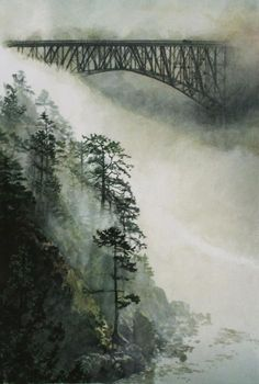 Deception Pass Fog