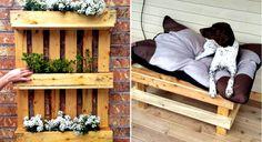 27 hauskaa ja kekseliäistä ideaa, mitä voit tehdä vanhoista puisista lavoista
