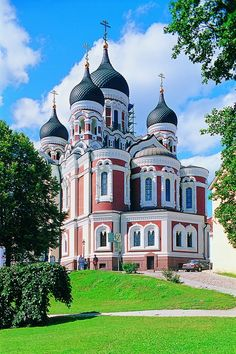 Alexander Nevsky Cathedral, Tallinn, Estonia