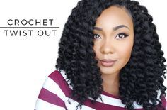 Read on to see this super cute Twist Out from my Crochet Senegalese Twists...