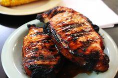 Honey Garlic Pork Chops - My Thirty Spot