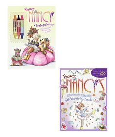 Another great find on #zulily! Fancy Nancy: Puzzle-Palooza Activity Book Set by Fancy Nancy #zulilyfinds