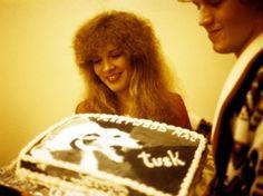 """Stevie & a """"Tusk"""" celebratory cake"""