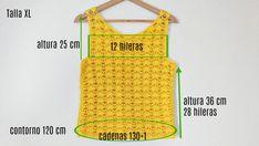 Crochet Crop Top, Crochet Blouse, Knit Crochet, Patron Crochet, Pull, Athletic Tank Tops, Crop Tops, Knitting, Dresses
