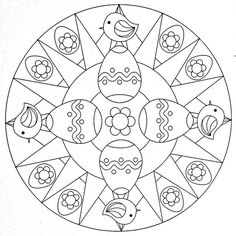 Mandala Coloring Page - Eastern | Flickr : partage de photos !
