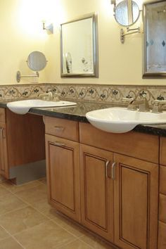 Handicap Accessible Dual Vanity   Google Search