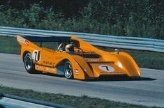 The 1971 McLaren M8F, a well respected, and feared by it's opponents, Can Am race car that took 8 of the 10 race season. built with, of all things... A Chevy small block engine.