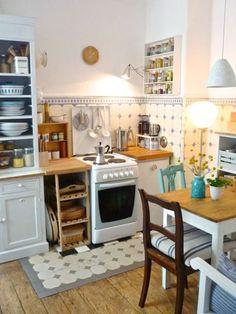 Formosa Casa: Cozinhas Pequenas! #decoraciondecocinasideas #casaspequeñasinteriores